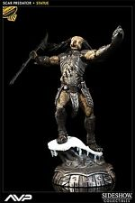 SIDESHOW EXCLUSIVE NEW!! AP AVP ALIEN VS PREDATOR: SCAR POLYSTONE STATUE Figure