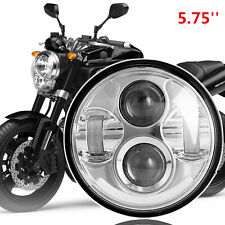 "LED Headlight For Avenger 40W 5.7"" With Half White Angel Eye..."