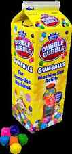 X4 454g carton dubble bubble refill money bank machine dispenser toy gum balls