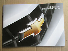 Mint  2010 Chevrolet CARS, CROSSOVER & TRUCKS Brochure10 Chevy