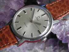 Omega 601 Vintage Stainless Steel Manual Wind Wrist Watch
