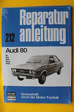 Audi 80 B1 Typ 80 82  Reparaturanleitung Handbuch