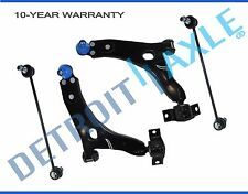 NEW 4pc Front Suspension Control Arm and Sway Bar Kit for Ford Focus Exc. SVT