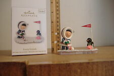 ~FROSTY FRIENDS~GOLF THEME~33RD IN THE SERIES~2012 HALLMARK ORNAMENT