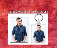 shane filan Key Ring & Fridge Magnet Set