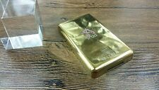 new golden color metal back housing case cover repair fr ipod 5th gen video 80gb