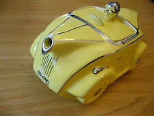 SADLER MOTOR RACING TEAPOT OK T 42 YELLOW RACING DRIVER MG BMC HEALEY MORGAN BRM