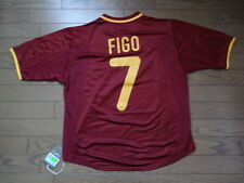 Portugal #7 Figo 100% Original Soccer Jersey Shirt M 2000/01 Home Still BNWT