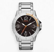 Relic by Fossil Gresham Stainless Mens Watch ZR12047 NEW in BOX!