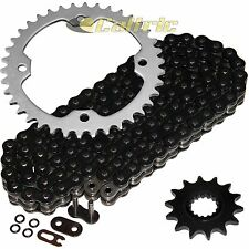 Black O-Ring Drive Chain & Sprockets Kit Fits YAMAHA RAPTOR 700R YFM700R 06-14