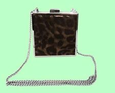 NINE WEST Go to Glamour Leopard Print Clutch Shoulder Bag Msrp $49.00