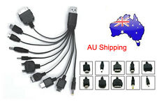 10 in 1 Universal Multi USB Charger Cable Mobile Phone iPhone iPod Samsung HTC