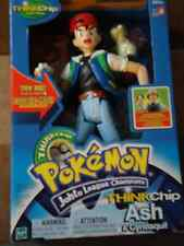 NEW POKEMON JOHTO LEAGUE CHAMPIONS THINKCHIP ASH & CYNDAQUIL