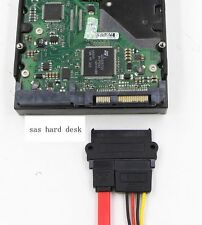 SATA Male To  SAS Female Adapter Board Adapter Protect Hard Desk SAS SFF-8482