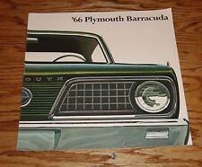 Original 1966 Plymouth Barracuda Sales Brochure 66 Formula S