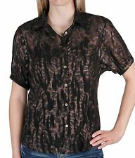 Top BKE Boutique Snakeskin Print Shirt SZ Small  From The Buckle New NWT