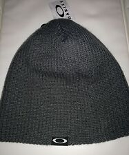 Oakley beanie hat woolly knit new backbone forged iron