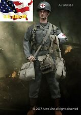 1/6 Hacksaw Ridge Andrew Garfield WWII U.S. military medical Suit very hot toys