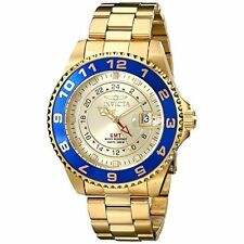 Invicta Men's 17153 Pro Diver Analog Display Swiss Quartz Gold Watch