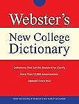 Webster's New College Dictionary by Agnes (2007, Hardcover)