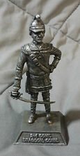DRAGOON CONN COLLECTIBLE PEWTER STATUE METAL  SOLDIER TOY ARMY FIGURE KS