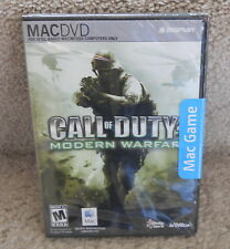 Call of Duty 4 Modern Warfare MAC Mac DVD Video Game (Mac 2008)
