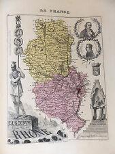 LA FRANCE ET SES COLONIES DÉPARTEMENT DU RHONE EDT 1874 VOIR DETAIL