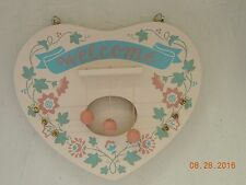 VINTAGE AVON**THE GIFT COLLECTION SPRING CHIMES DOOR HARP RARE Pastel