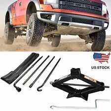 Spare Tire Lug Wrench Tool Kit  + 2 Tonne Scissor Jack For Ford F150 (2004-14 )