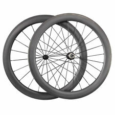 Ceramic Bearing Hubs Carbon Wheels 700C 60mm Tubular Carbon Road Bike Wheelset