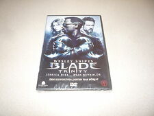 BLADE TRINITY DVD STARRING WESLEY SNIPES  BRAND NEW AND SEALED