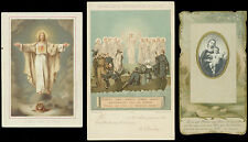 lotto santini-holy cards lot-lot images pieuses-konvolut heiligenbildichen 2509