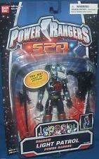 "Power Rangers SPD Light Patrol Shadow Ranger New 5"" Factory Sealed 2004"