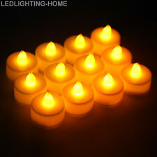 24 x LED High Power Battery Operated Tea Light Flameless Candles Tealights Party
