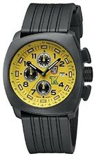 Luminox Authentic 1105 Tony Kanaan Racing PC Carbon Yellow Chrono Night Vision!!