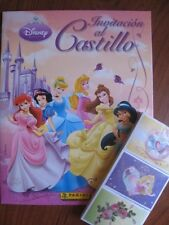Panini Disney Princess Castle Complete Stickers Collection + Album
