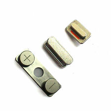 100% Genuine Apple iPhone 4 side buttons power volume rocker lock mute switch