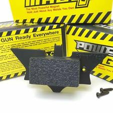 POWERMAG+ Gun Concealment Magnet Holster Mount Hide Under Desk Bed Weapon Storag