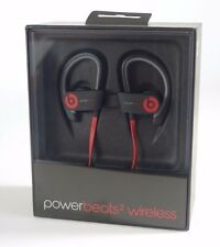 Beats By Dr Dre Powerbeats 2 Wireless Bluetooth In-Ear Hook Black Red Sports