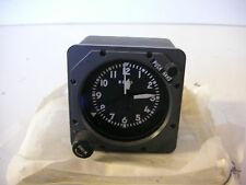 8130 - INSPECTED SERVICEABLE AIRCRAFT MECH CLOCK AEROSONIC P/N: 87500-1135A
