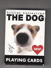 "THE DOG  ""ARTLIST COLLECTION"" PUPPY PLAYING CARDS (54 DIFFERENT) ""UNSEALED"" 2009"