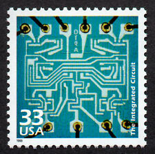 UNITED STATES, SCOTT # 3188-J, THE INTEGRATED CIRCUIT, COMPUTER TECHNOLOGY, MNH
