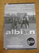 11/04/2005 Northern League Presidents Cup Final: Witton Albion v Bamber Bridge