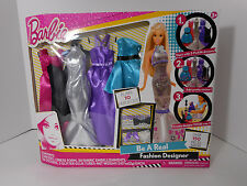 Barbie Be A Real Fashion Designer Play Set Design Your Own Barbie Clothes