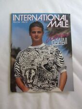 Preowned INTERNATIONAL MALE Catalog Spring 1989 Special Issue HAWAII Version 2