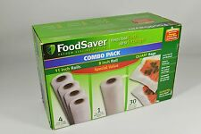 FoodSaver Replacement Rolls Combo Pack 5-Rolls + 30-Bags
