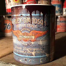 Harley Davidson Oil can Gift Motorcycle Car Mechanic Gift 11oz Tea coffee mug