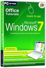 Learn to use Microsoft Windows 7 (PC CD) NEW SEALED