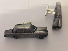 Volvo 164 Saloon 3D cufflinks classic car pewter effect cufflink ref286