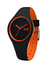 Ice-Watch Ice Duo Black Silicone Strap WatchDUO.BKO.S RRP £69.95